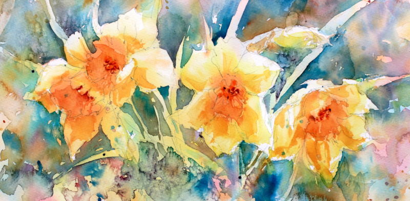 learn to paint flowers in watercolour international directory of