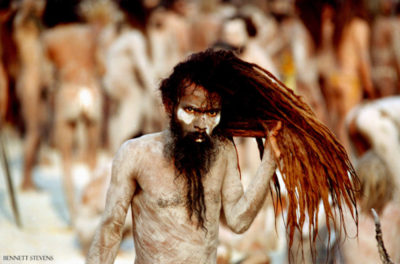Naga Baba at India's Kumbh Mela in Allahabad