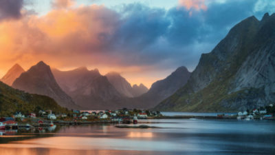 Sunset in Norway, Johnathan Esper