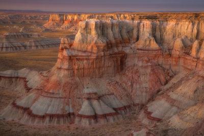Coal Mine Canyon, Near Tuba City on Hopi Indian Reservation in Arizona.