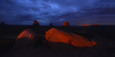 Valley and Buttes