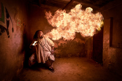 India fire eater